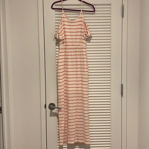 Striped maxi dress. NWT, never been worn.